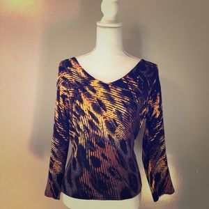 Alberto Makali fitted sweater blouse